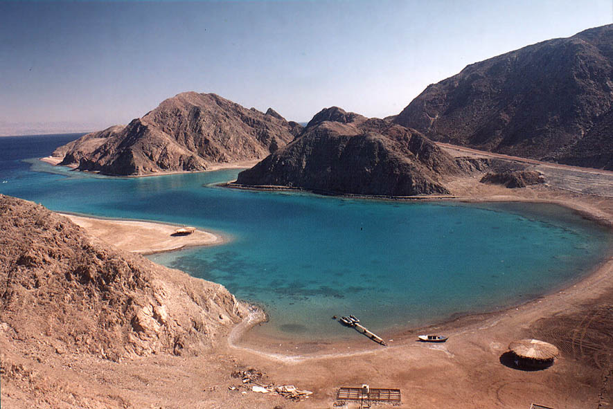Marsa Murah (Hamifratz Hane'elam) Fjord 6 miles...from Rd. 36 along the Red Sea. Egypt