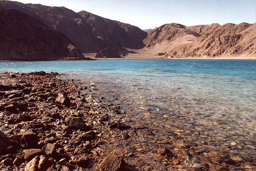 Bay of Marsa Murah (Hamifratz Hane'elam) Fjord of...6 miles south-west from Taba. Egypt