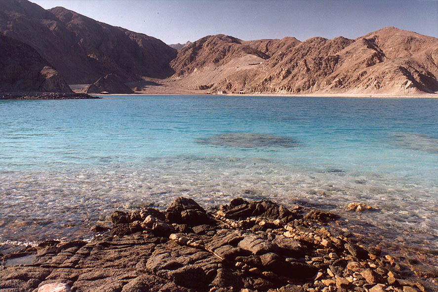 Coral bay of Marsa Murah (Hamifratz Hane'elam...6 miles south-west from Taba. Egypt
