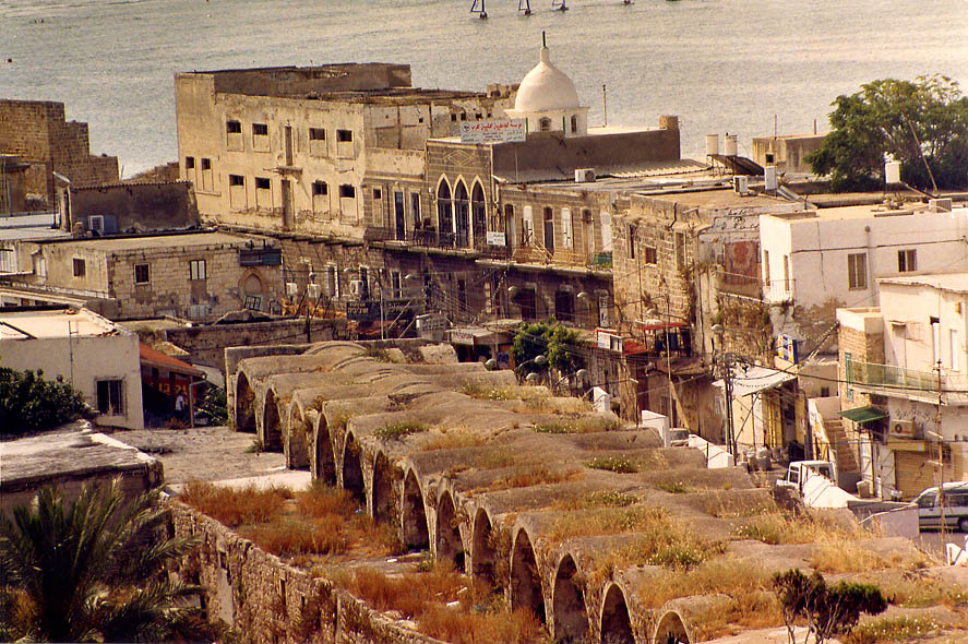 Old City, view from Citadel. Akko, the Middle East