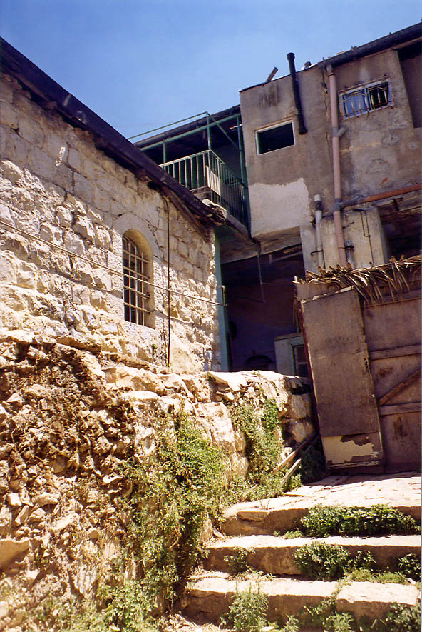 Near Yoel St. in orthodox neighborhood of Beit Israel. Jerusalem, the Middle East