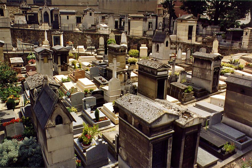 Paris  - Cemetery of Monmartre. Paris