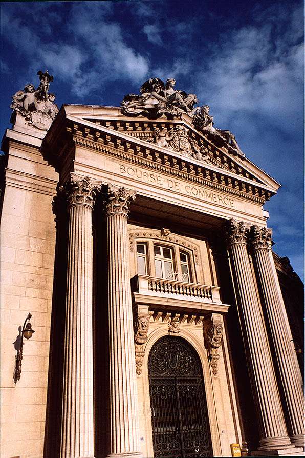 Paris  - Bourse du Commerce. Paris