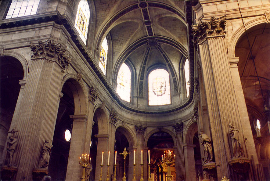 Paris  - St.Sulpice cathedral. Paris