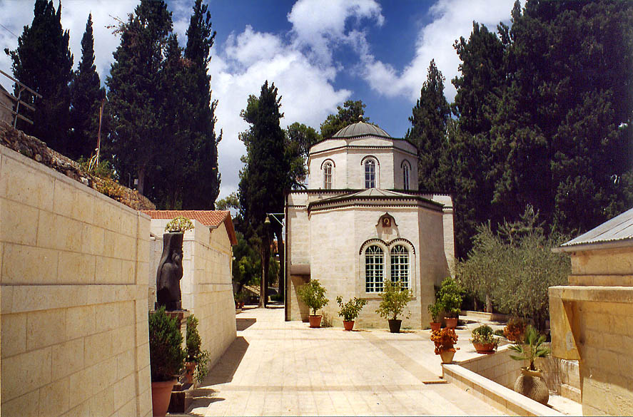 An Orthodox church in Gornensky Convent for women...western Jerusalem). The Middle East