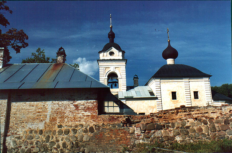 Kazansky skit (small and secluded monastery) in...Lake north from St.Petersburg, Russia