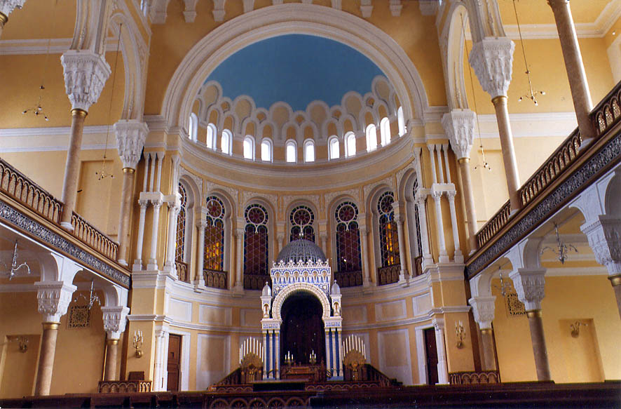 Great Choral Synagogue (built in 1893, currently...Pr. in St.Petersburg, Russia 2002
