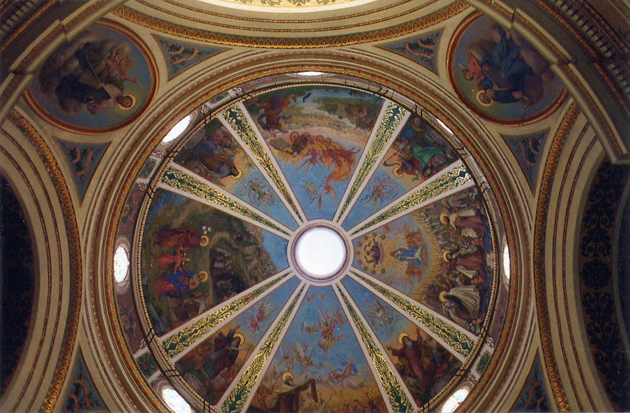Dome of Stella Mare Church in Haifa. The Middle East