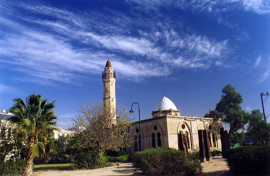 Abandoned Great Mosque in Old City of Beer-Sheva. The Middle East