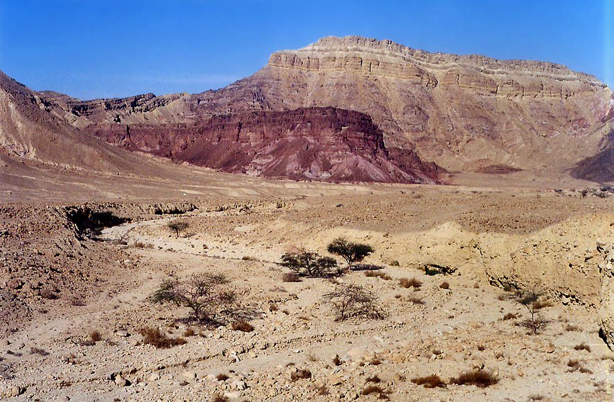 Roded Valley north from Eilat. The Middle East