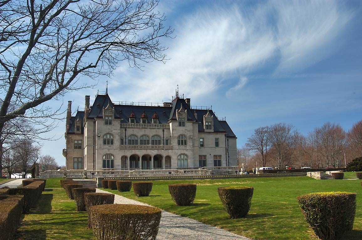 Ochre Court of Salve Regina University. Newport, Rhode Island