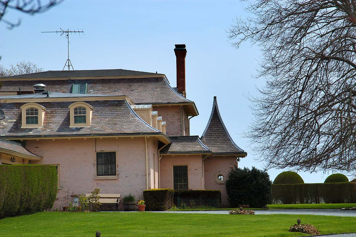 Felicity Mansion in southern part of Bellevue Ave. in Newport. Rhode Island