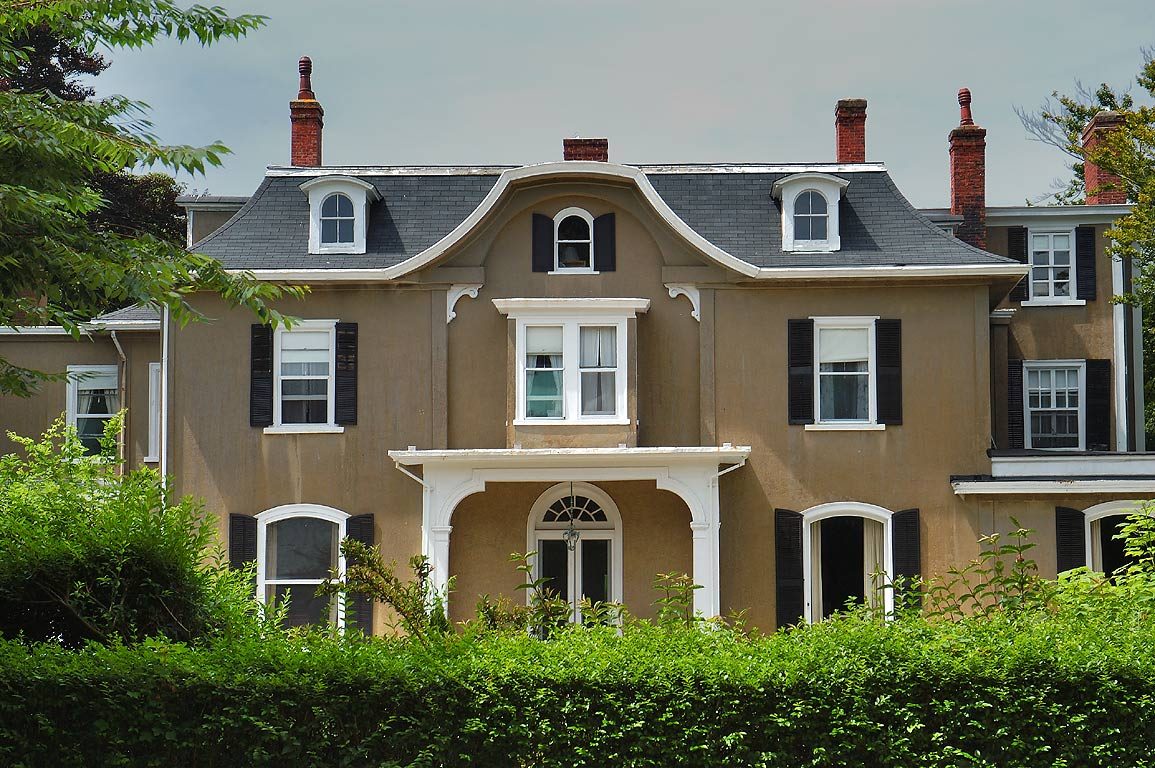 Quatrel Mansion at the end of Bellevue Ave. in Newport. Rhode Island