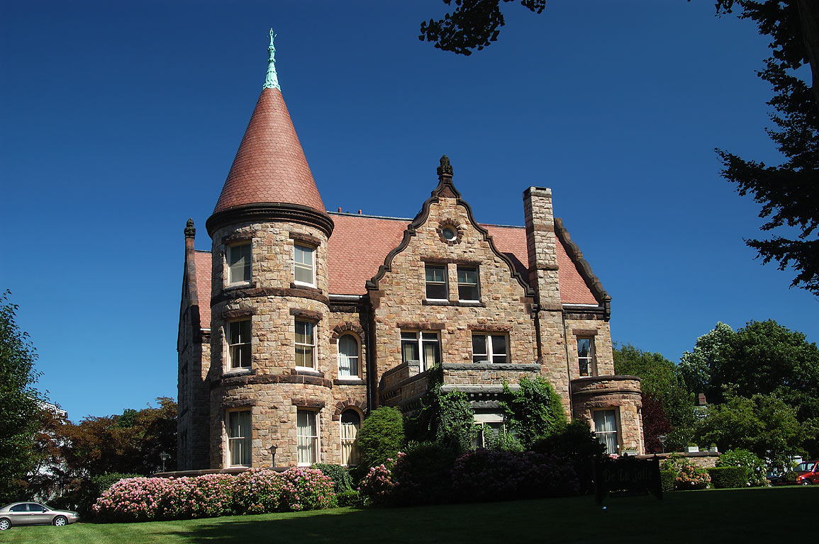 De La Salle Mansion at Bellevue Ave. in Newport. Rhode Island