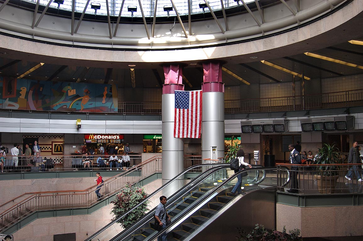 South Station bus terminal. Boston, Massachusetts