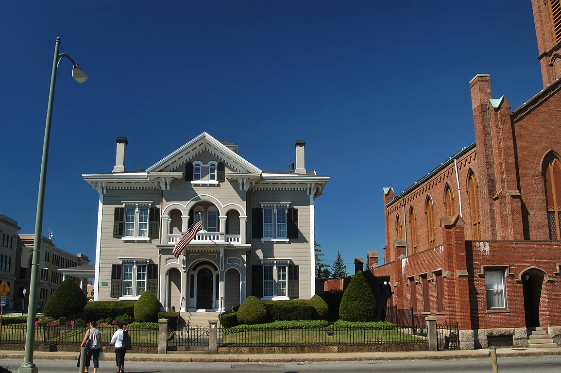 A house at County St.. New Bedford, Massachusetts