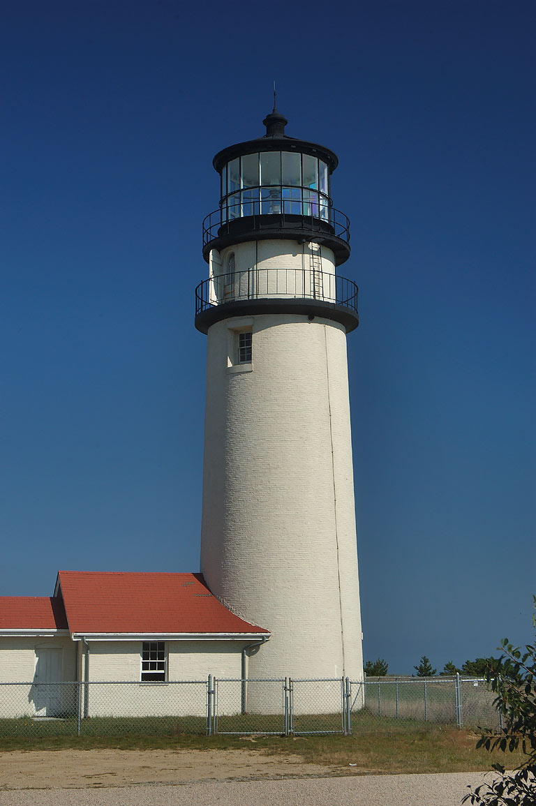 Highland Light, or Cape Cod Light. North Truro, Massachusetts