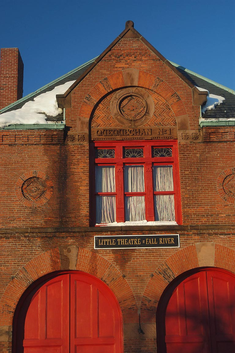 "The engine house (a fire barn) ""Quequechan No. 1...Ave.. Fall River, Massachusetts"