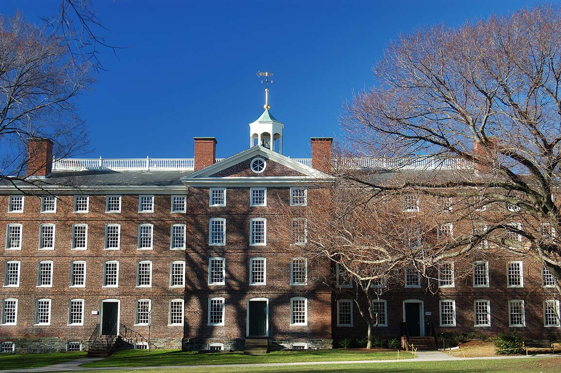 University Hall in Brown University. Providence, Rhode Island