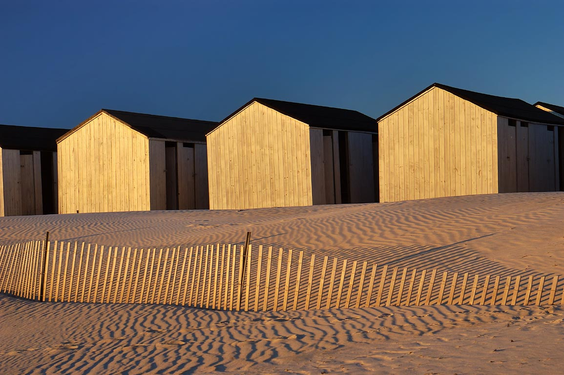 Cabins on Horseneck Beach in Westport, at 4:02 p.m. Massachusetts