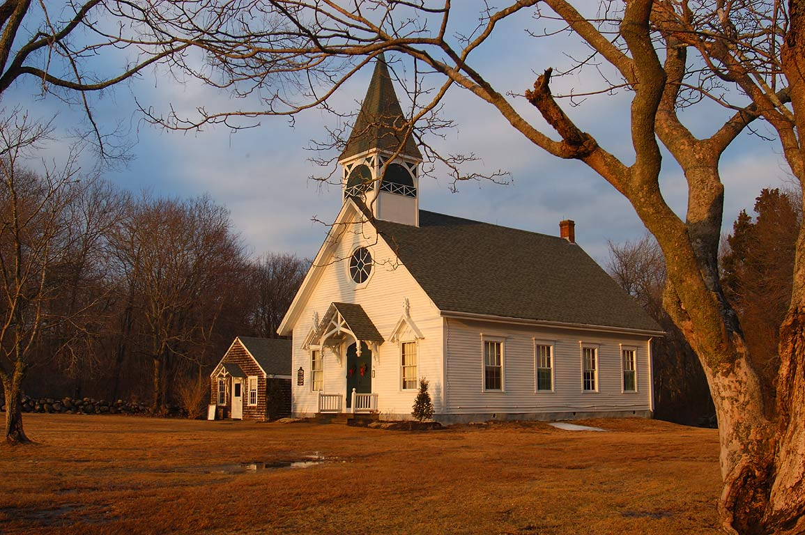 Free Chapel at Howland Rd. south from Adamsville. Westport, Massachusetts