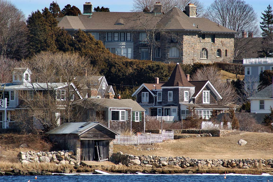 Watch Hill Cove of Little Narragansett Bay from...Beach. Westerley, Rhode Island
