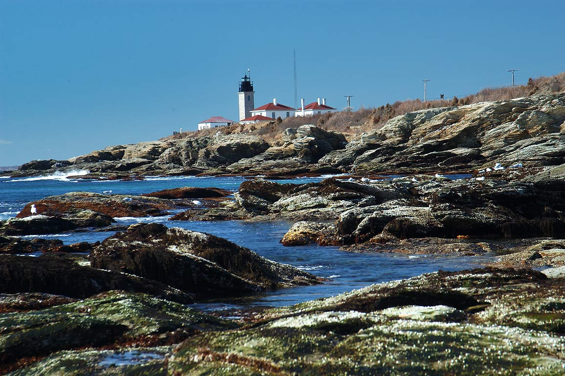 Beavertail Point in Jamestown, Rhode Island