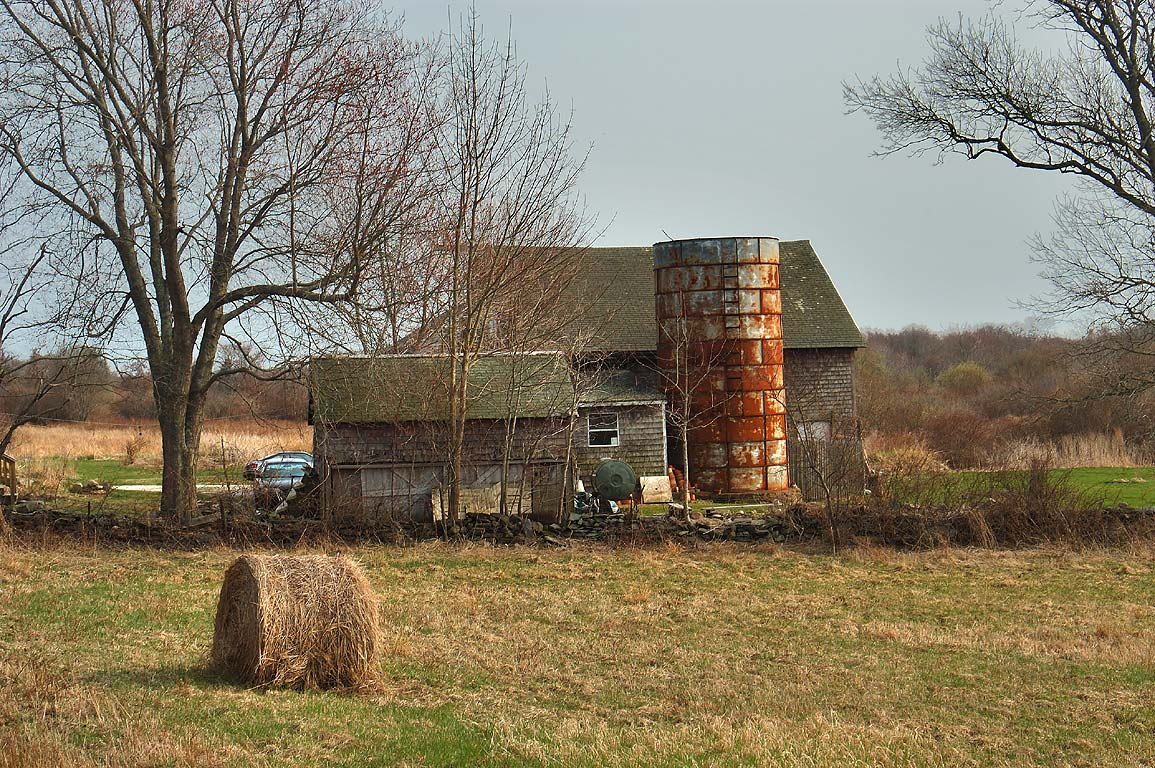 A farm at South Commons Rd.. Little Compton, Rhode Island