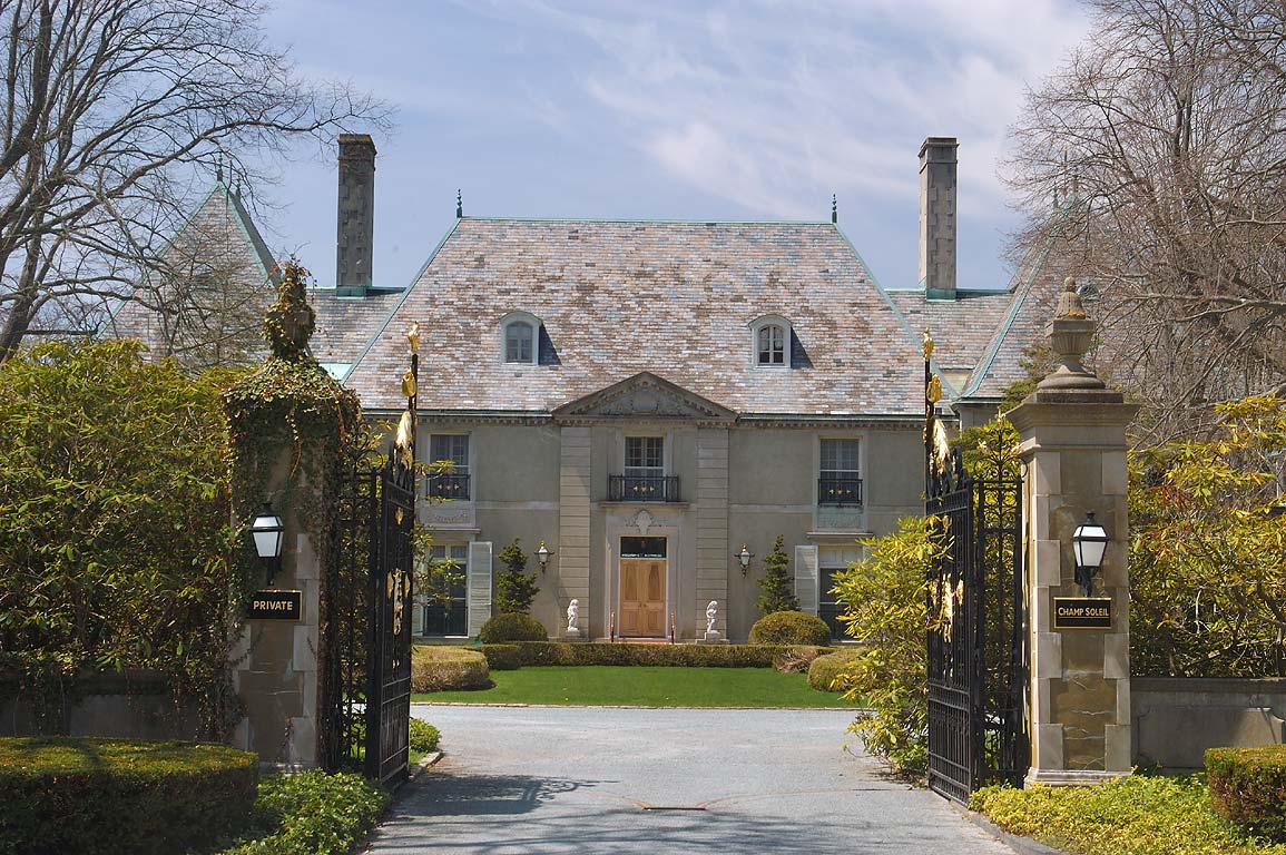 Champ Soleil Mansion on Bellevue Ave.. Newport, Rhode Island