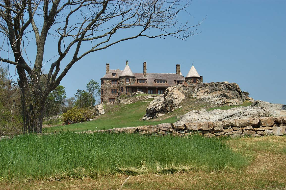 A mansion on Ocean Dr. in Newport. Rhode Island