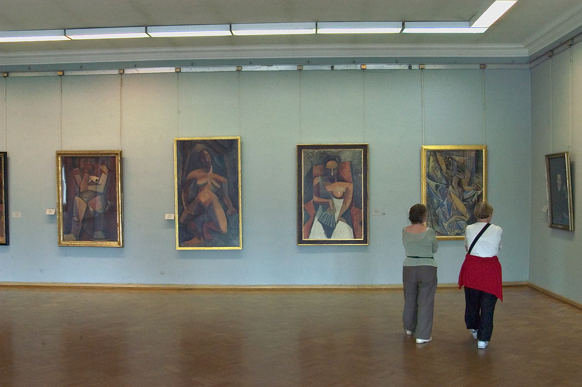 Picasso Room in Hermitage museum. St.Petersburg, Russia