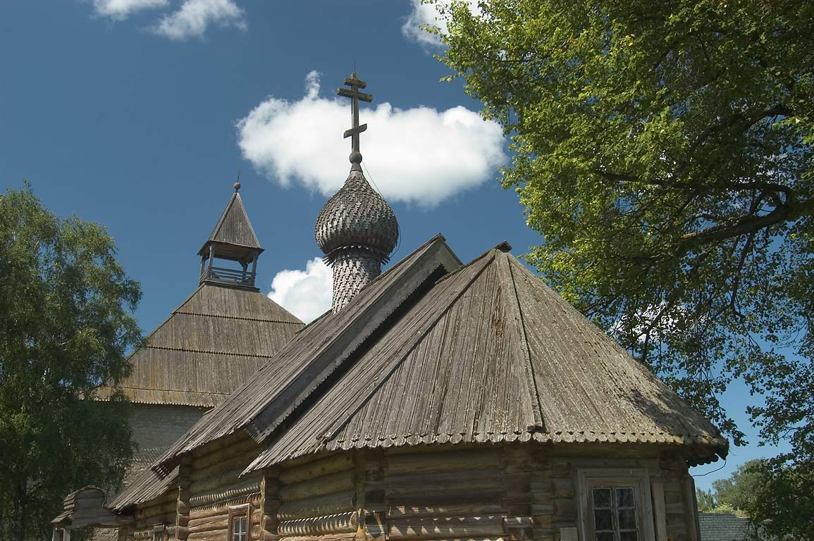 Dmitry Solunsky church in Old Ladoga Fortress in Staraya Ladoga. Leningrad Region, Russia