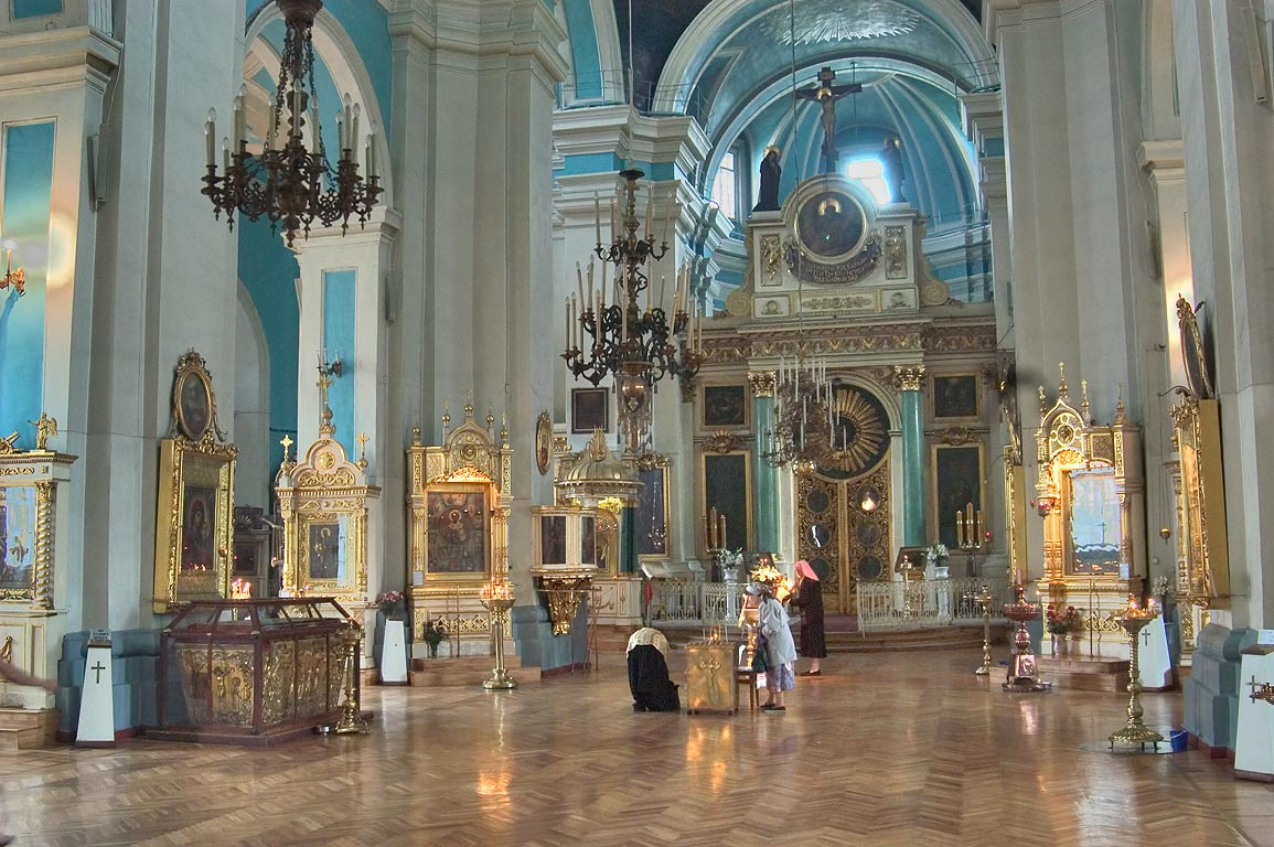 Interior of Vladimirsky Cathedral in...neighborhood. St.Petersburg, Russia