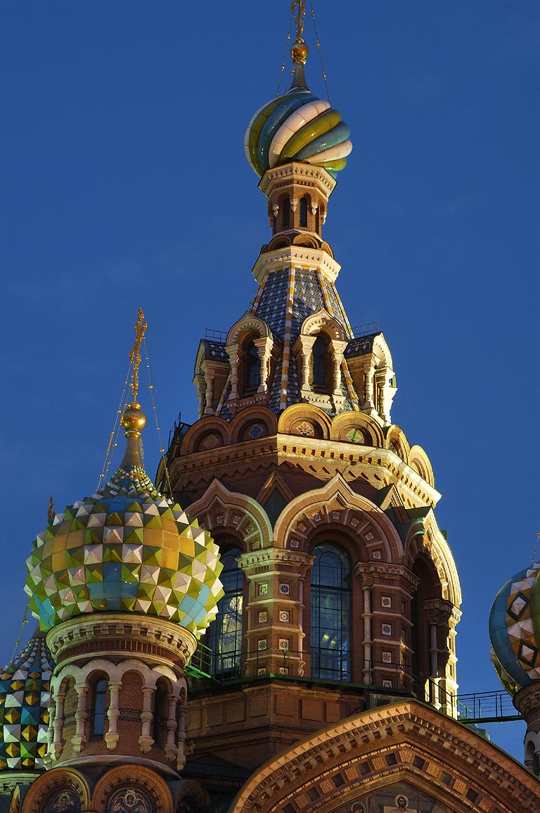 Church of Savior on Blood at early morning. St.Petersburg, Russia