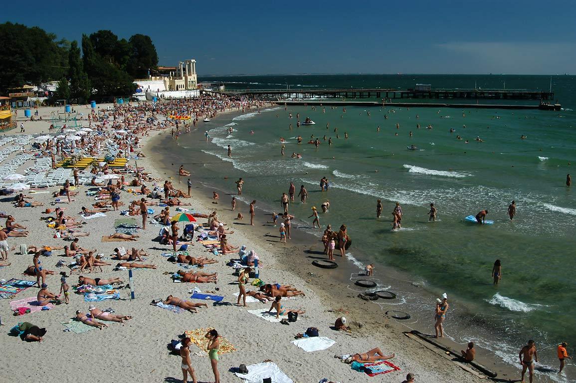 Arcadia Beach Odessa Ukraine