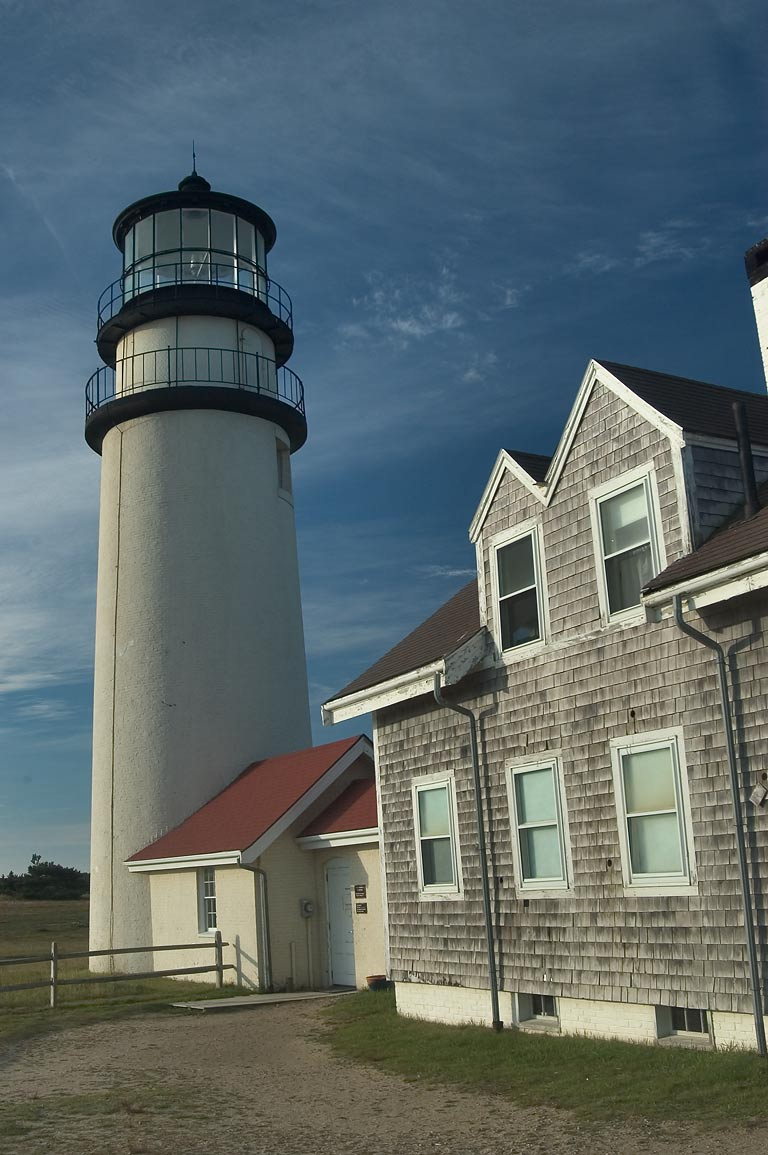 Highland (Cape Cod) Lighthouse. North Truro, Massachusetts