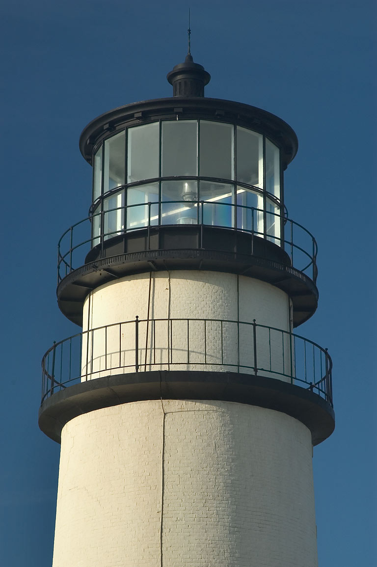 Highland (Cape Cod) Lighthouse, zoomed. North Truro, Massachusetts