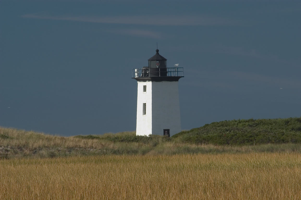 Moor and Woods End Lighthouse in Cape Cod, view...Harbor. Provincetown, Massachusetts