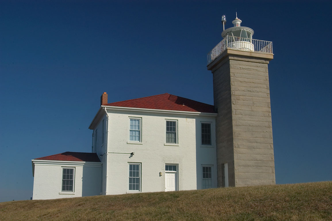 Watch Hill Lighthouse. Westerley, Rhode Island