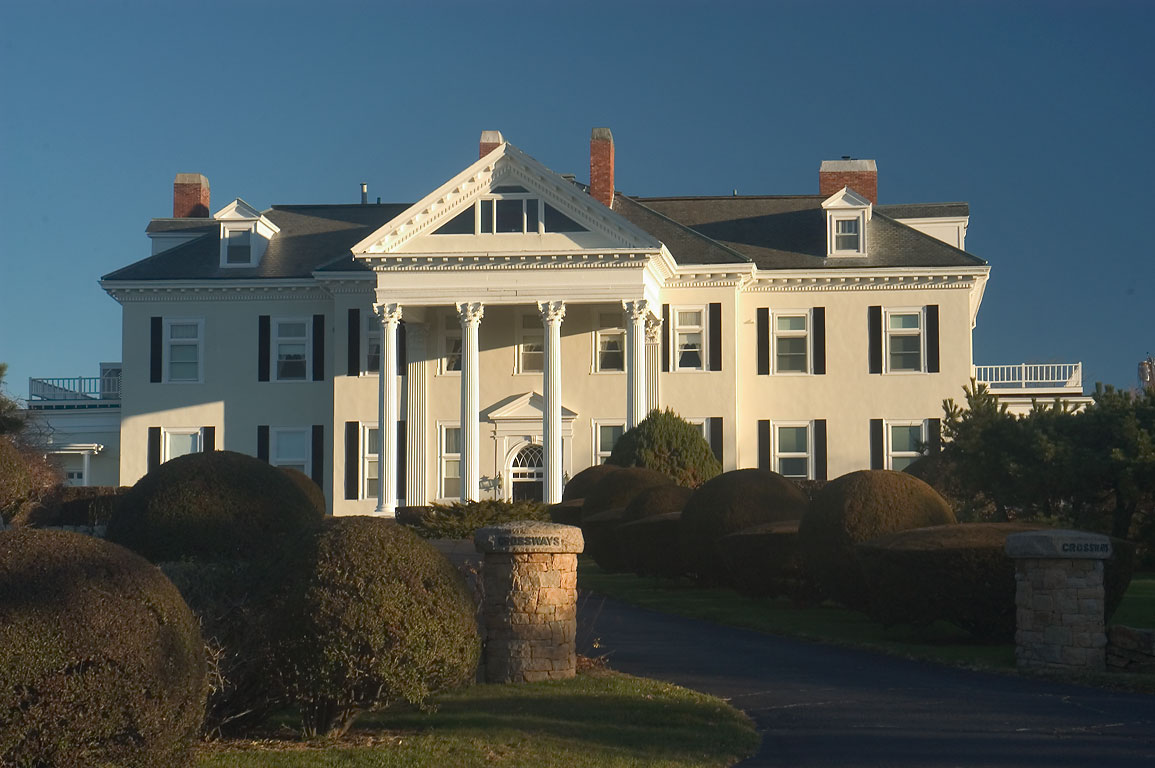 Crossways Mansion on Ocean Dr.. Newport, Rhode Island