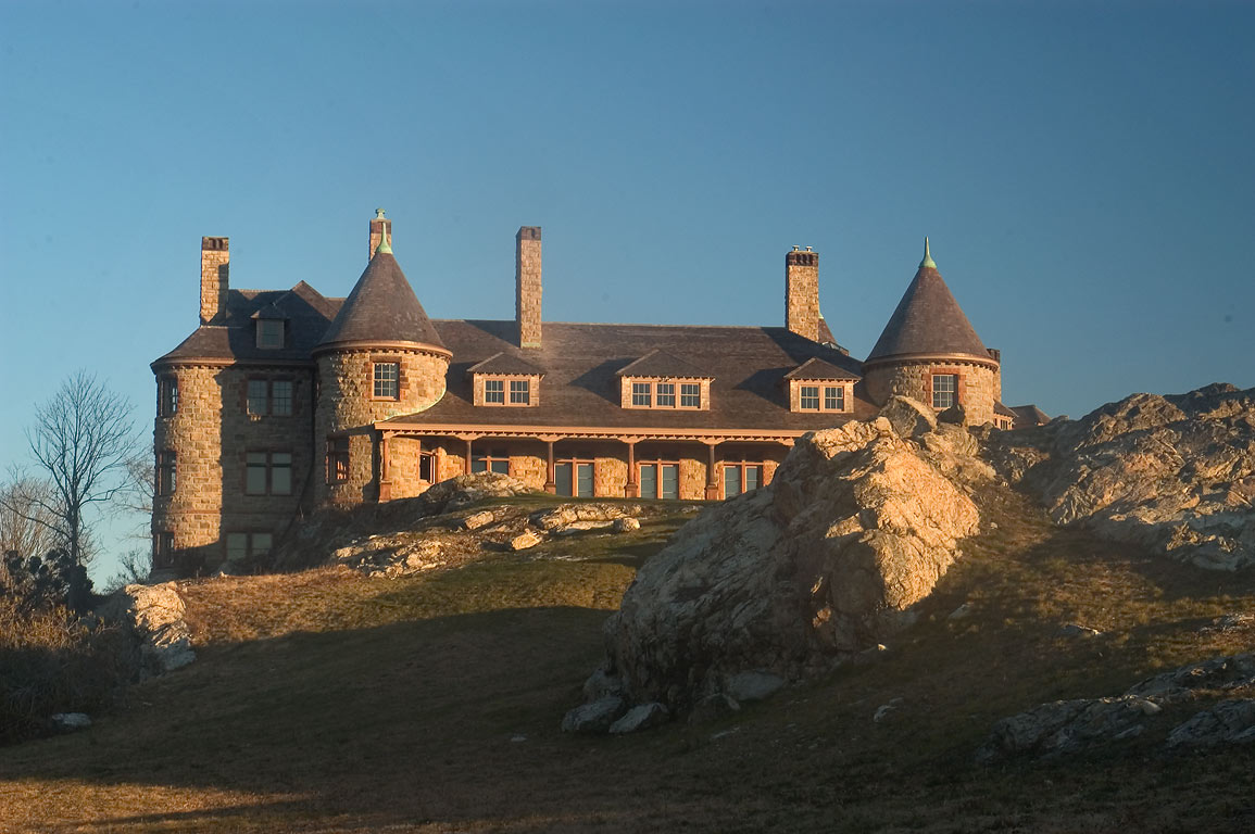 Twin Ledges Mansion on Ocean Dr. in Newport. Rhode Island