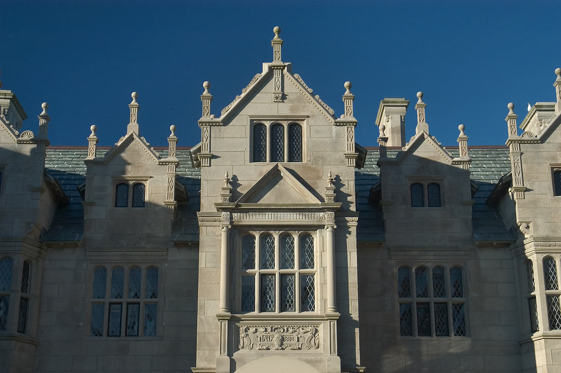 Wakehurst Mansion, now Student Center of Salve Regina University in Newport. Rhode Island