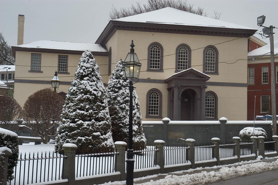 Touro Synagogue in Newport. Rhode Island