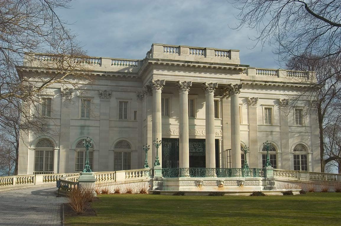 Marble House Mansion on Bellevue Ave.. Newport, Rhode Island