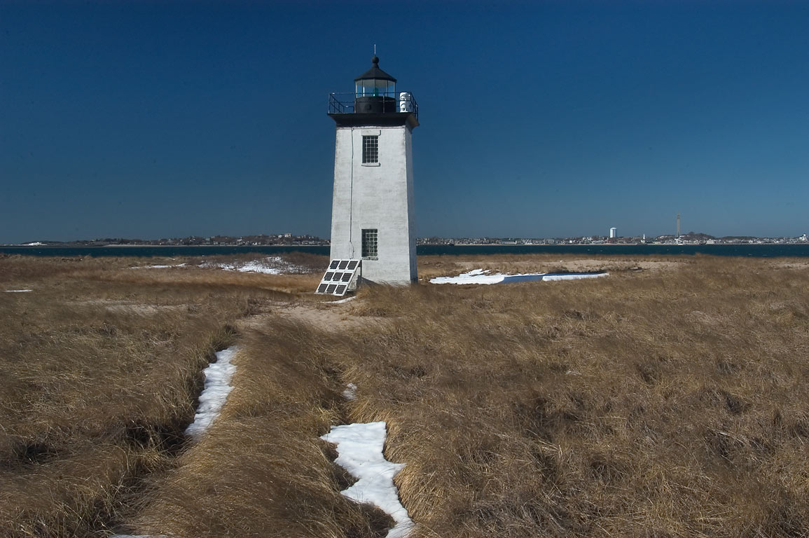 Long Point Lighthouse in Cape Cod. Provincetown, Massachusetts