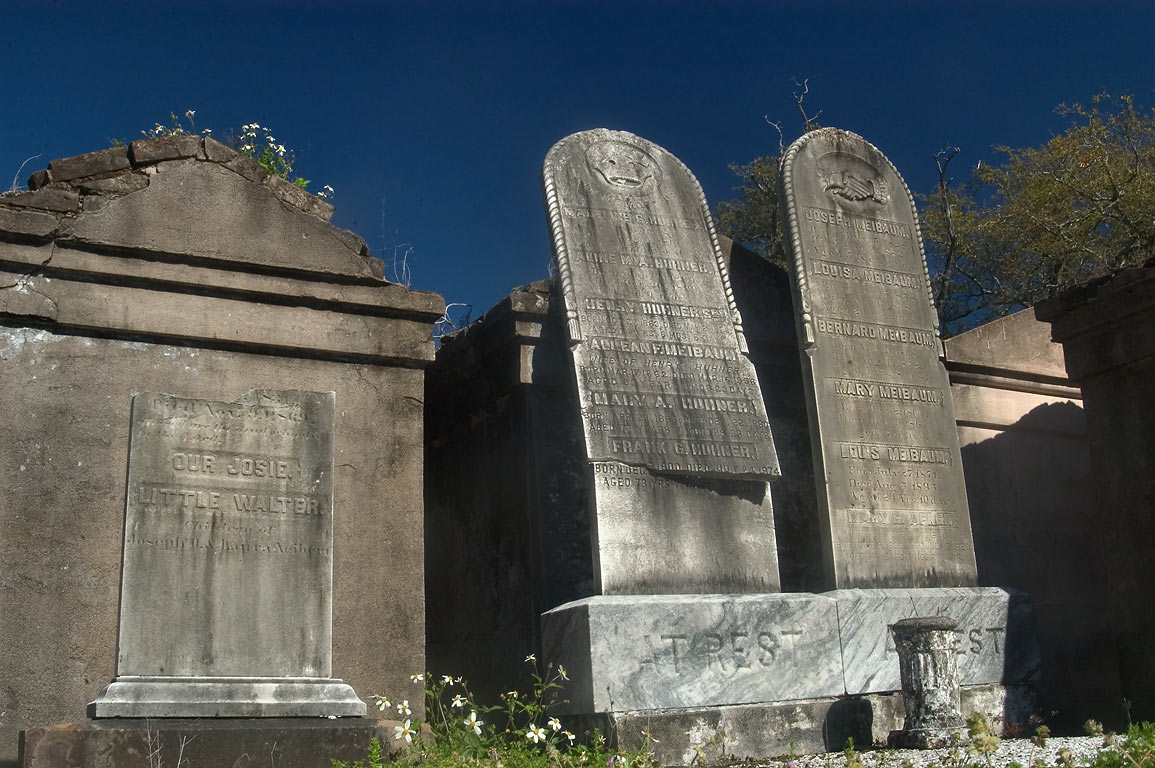 Graves of Lafayette Cemetery. New Orleans, Louisiana