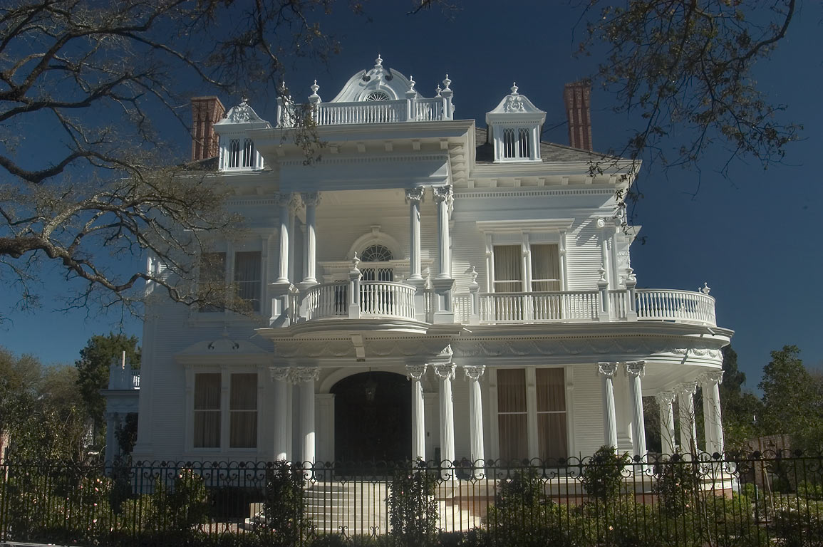 "Wedding Cake House"" Mansion at 5809 St.Charles...Nashville Ave.. New Orleans, Louisiana"