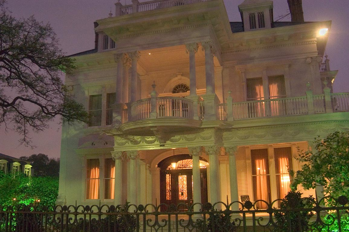 Wedding Cake House on St.Charles Ave.. New Orleans, Louisiana