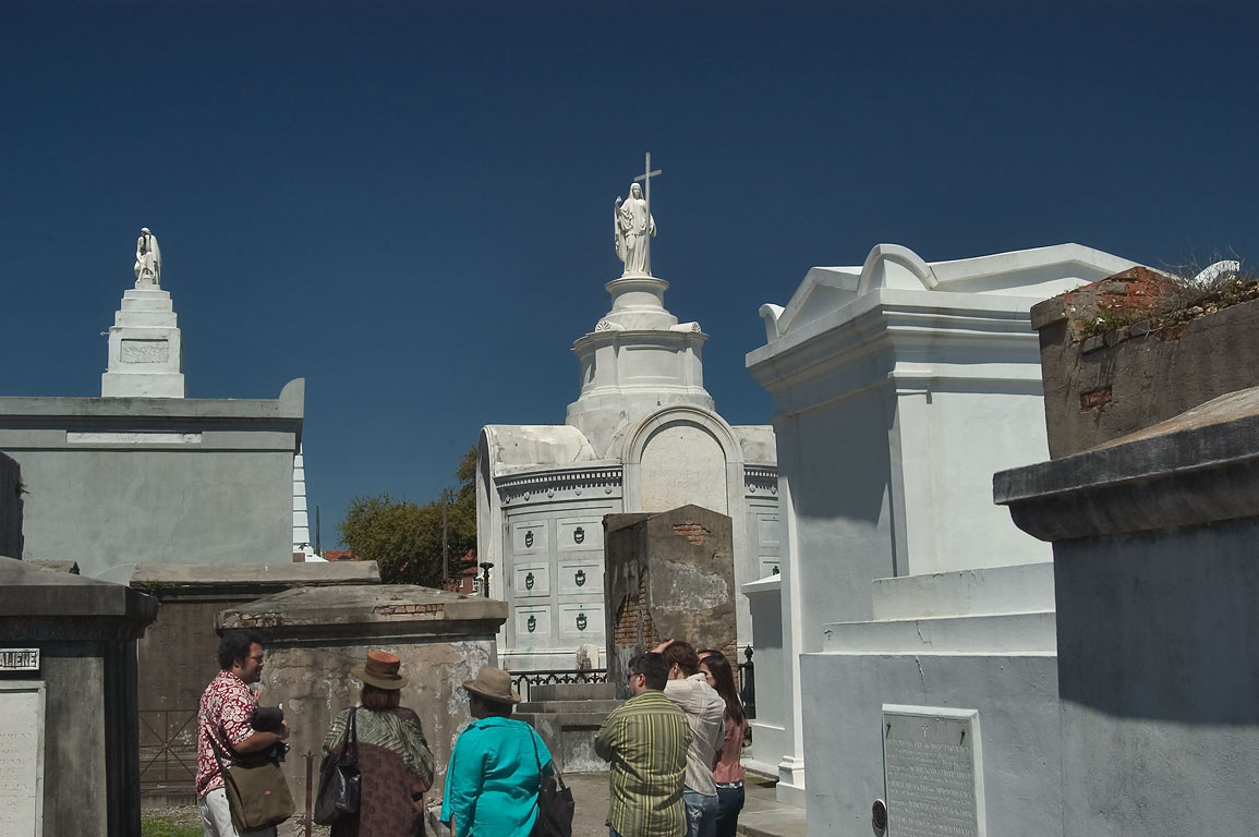 A tour of St.Louis Cemetery No. 1. New Orleans, Louisiana