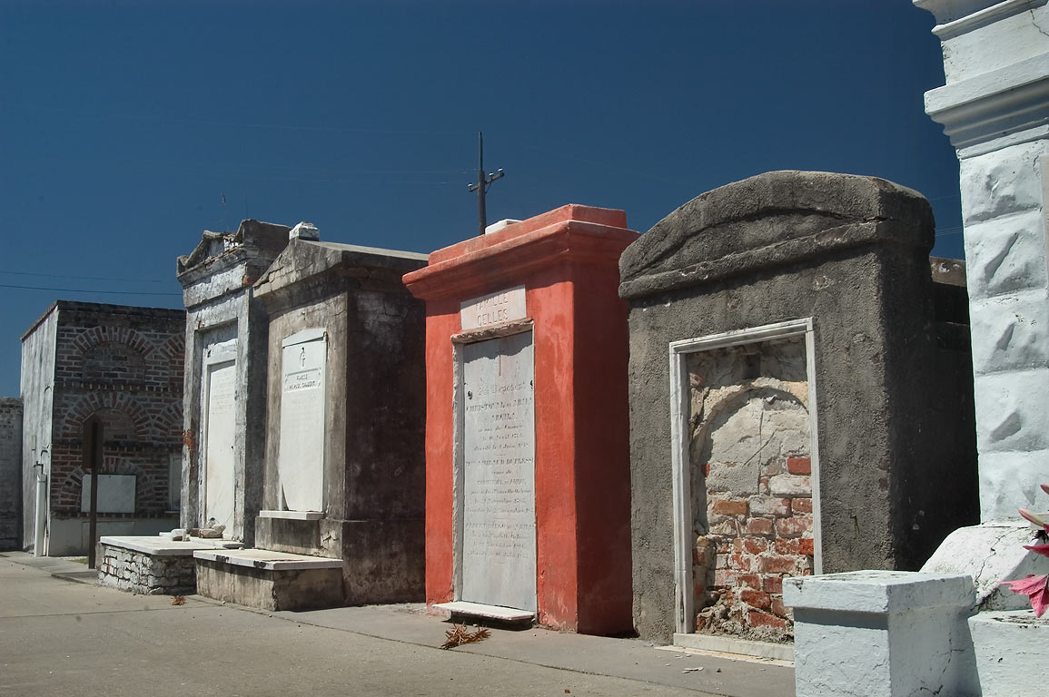 St.Louis Cemetery No. 2 . New Orleans, Louisiana